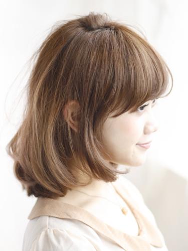 2012年清爽感鮑勃髮型搭配夏日亮眼棕橘髮色A-2