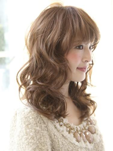 2012年春夏波浪感蓬鬆捲燙髮髮型A-2