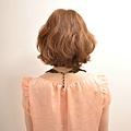 2012年日系春夏髮型@蜜糖橘髮色俏麗捲捲髮造型A-3