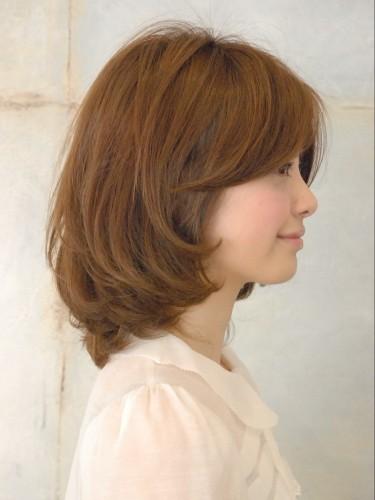 2012年日系春夏髮型@蜜棕色鮑勃知性感風格造型A-3