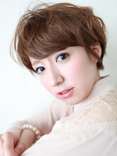 2012年東京風格夏日自然混搭設計髮型A-1