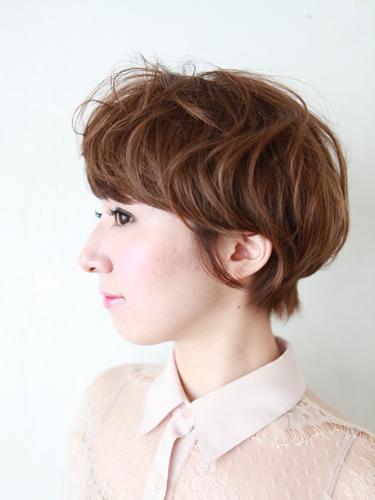 2012年東京風格夏日自然混搭設計髮型A-2