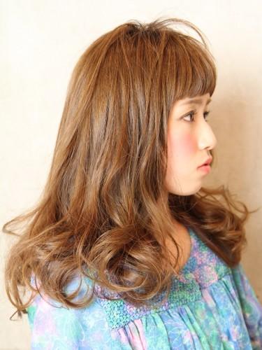 2012年東京風格夏日長捲髮型A-2