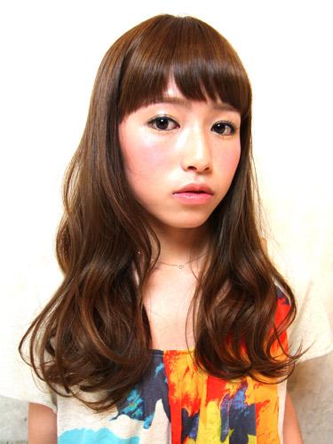 2012年夏季日系潮流髮型自然圓弧造型+亞麻髮色調A-1