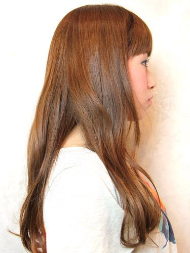 2012年夏季日系潮流髮型自然圓弧造型+亞麻髮色調A-2