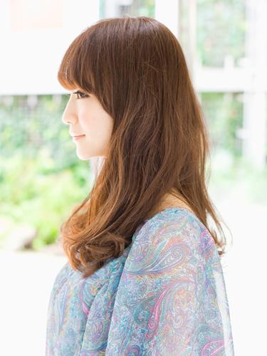 2012年夏季日系潮流髮型長捲髮甜美造型A-2