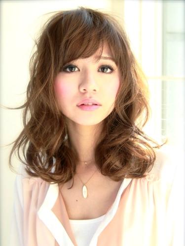 2012年夏季日系潮流髮型蓬鬆感捲髮造型A-1