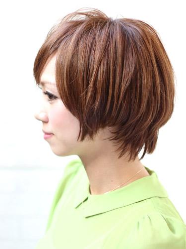 2012年夏季短髮鮑伯俏麗髮型A-2