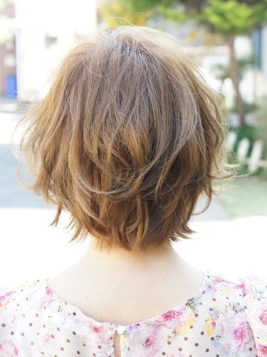 2012年夏季日系空氣燙蓬鬆感俏麗髮型A-3