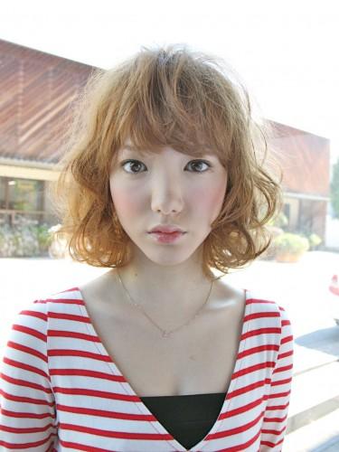 2012年夏季日雜麻豆潮流髮型自然乾燥感髮色A-1