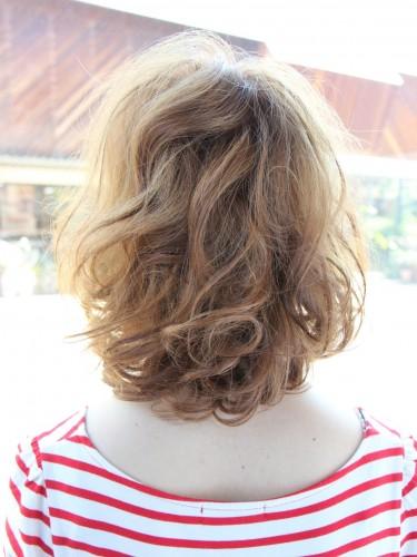 2012年夏季日雜麻豆潮流髮型自然乾燥感髮色A-3