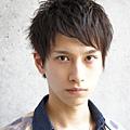 2012年夏季男生短髮率性線條感設計髮型A-1