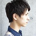 2012年夏季男生短髮率性線條感設計髮型A-2