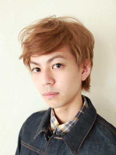 2012年夏季男生髮型漂髮處理淺色調分享A-1