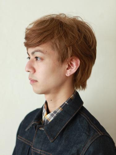 2012年夏季男生髮型漂髮處理淺色調分享A-2
