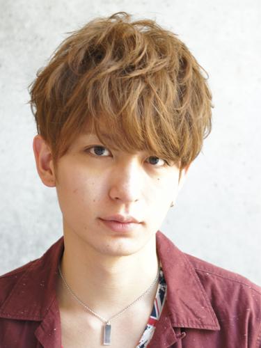 2012年日系型男夏日時尚風格燙染髮髮型分享A-1