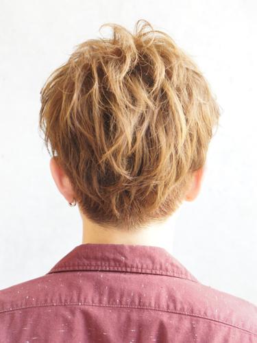 2012年日系型男夏日時尚風格燙染髮髮型分享A-3