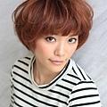 2012年日系鮑勃俏麗感燙染髮髮型分享A-1