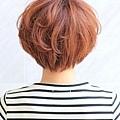 2012年日系鮑勃俏麗感燙染髮髮型分享A-3