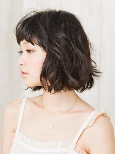 2012年日系風格鮑勃。精緻感小顏燙髮髮型分享A-2