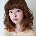 2012年有彈性的風格捲髮燙髮日系髮型分享A-1