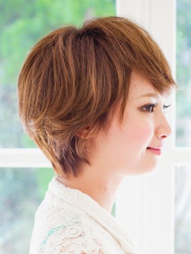 2012年日系風格小顏俏麗感燙染髮髮型分享A-2