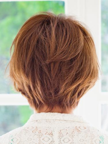 2012年日系風格小顏俏麗感燙染髮髮型分享A-3