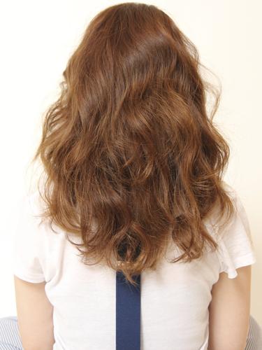 2012年女人味滿分的自然感風格捲髮燙髮日系髮型分享A-3