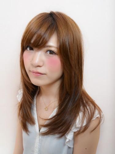 2012年夏日明亮光澤感髮色~日系潮流風格髮型分享A-1