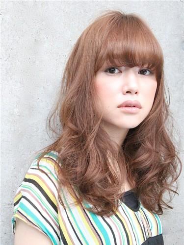 2012年蓬鬆感風格捲髮燙髮日系髮型分享A-1