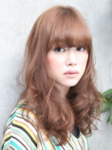 2012年蓬鬆感風格捲髮燙髮日系髮型分享A-2