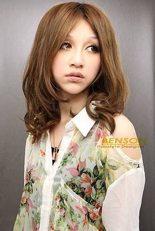 Nana夏日陽光女孩新造型@海洋風淺棕髮色
