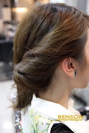 娜娜示範@簡單易學的編髮造型