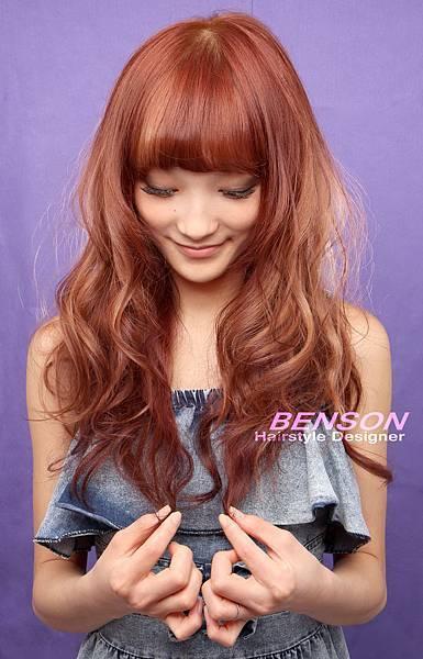 營造甜美亮麗的日系潮流髮型