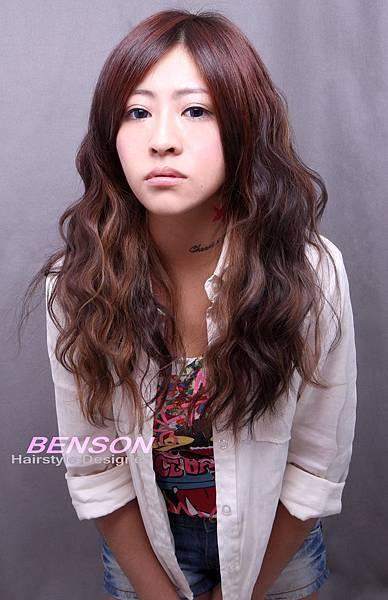 芸瑄美眉@局部打亮營造甜美又帥氣的髮型樂趣