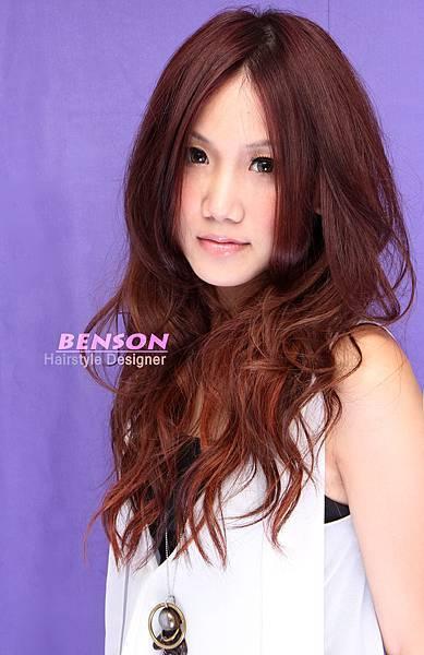 Yvonn正咩~秋季當紅混搭雙色染髮長髮型~柔媚氣質感提升100%
