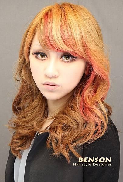 娜娜-秋冬亮麗漂染染髮長髮型設計