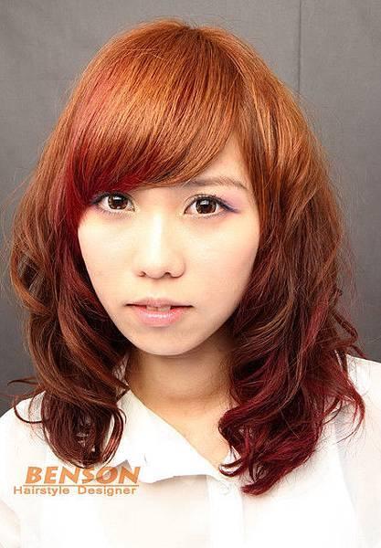 2012年秋冬風潮染燙髮型設計@尚洋髮型班森BENSON