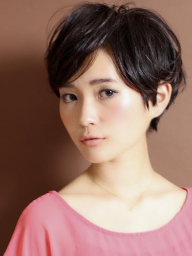 【日系短髮】簡單,成熟現代感的風格設計-自然灰棕色調A-1