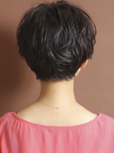 【日系短髮】簡單,成熟現代感的風格設計-自然灰棕色調A-3