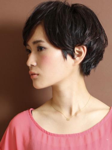 【日系短髮】簡單,成熟現代感的風格設計-自然灰棕色調A-2