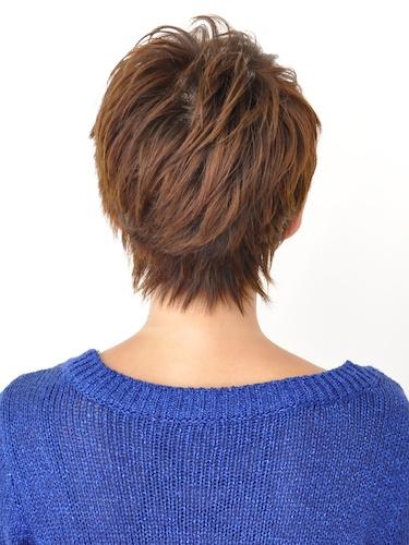 【簡單易打理】自然可愛的短髮髮型A-3