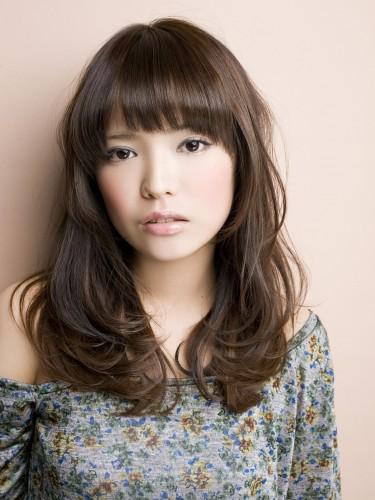 【日系髮型】迷濛女孩的摩卡棕風格髮色-長髮型A-1
