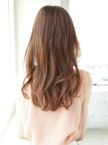 【日系髮型】蓬鬆,柔軟,乾淨,純潔的氛圍呈現。長捲髮風格A-3