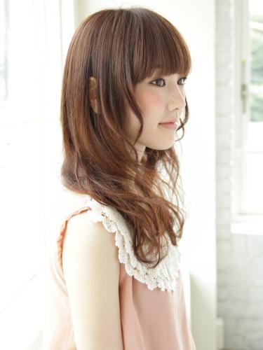 【日系髮型】蓬鬆,柔軟,乾淨,純潔的氛圍呈現。長捲髮風格A-2