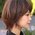 【燙髮造型】自然,鬆軟的日系簡單風格設計燙髮調整A-2