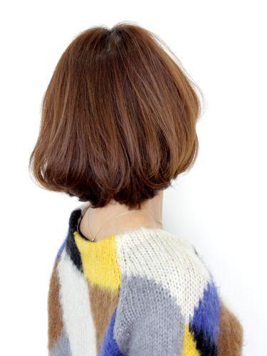 【鮑勃髮型】小臉,柔軟,蓬鬆,有光澤的推薦款女性風格髮型A-3