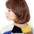 【鮑勃髮型】小臉,柔軟,蓬鬆,有光澤的推薦款女性風格髮型A-2