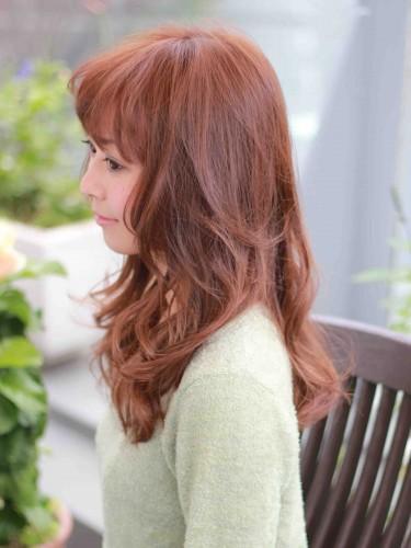 長波浪式的卷髮風格髮型A-2