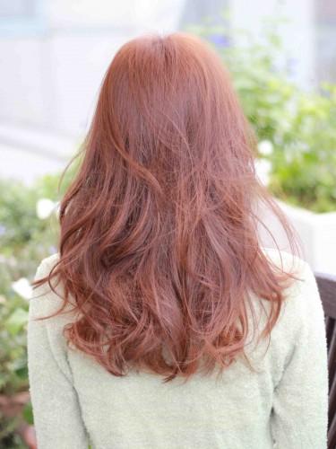 長波浪式的卷髮風格髮型A-3